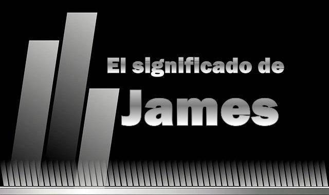 Signficado de James