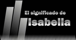 Significado  de Isabella