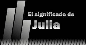 Significado de Julia