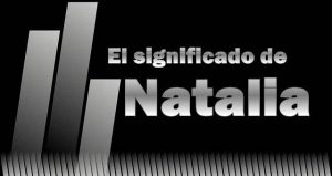 Significado de Natalia