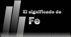 Significado del nombre Fe