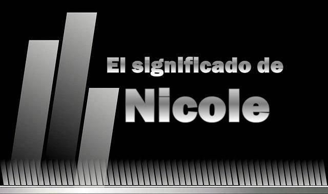 Significado del nombre Nicola