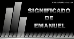 Significado de Emanuel
