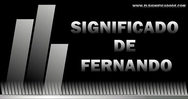 Significado-de-Fernando