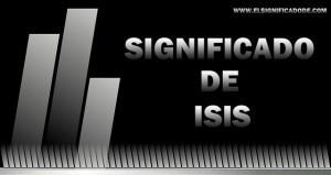 Significado de Isis | Nombre femenino de origen egipcio