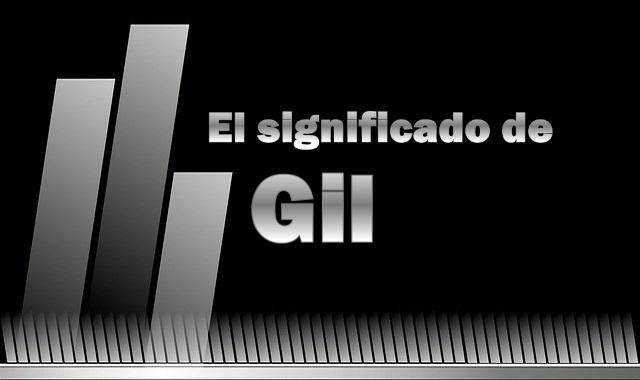 Significado de Gil