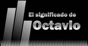 Significado de Octavio