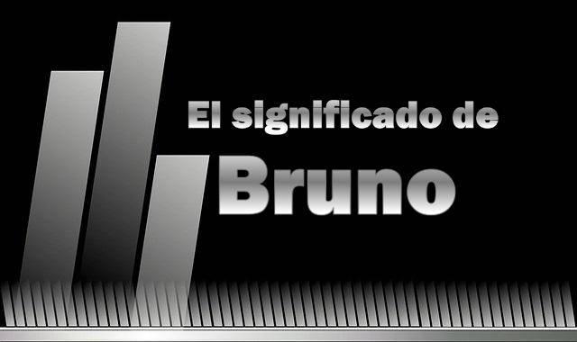 Significado del nombre Bruno