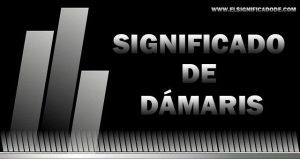 Significado de Dámaris nombre femenino de origen Griego