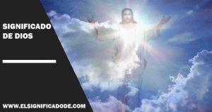 Significado De Dios