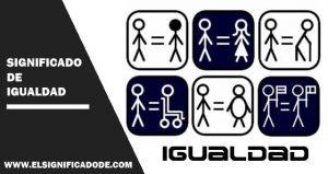 Significado de igualdad