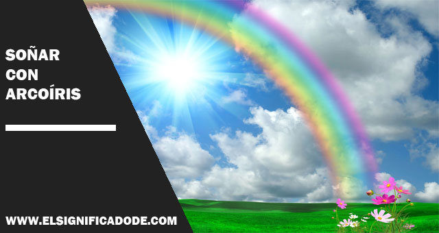 sonar con arcoiris