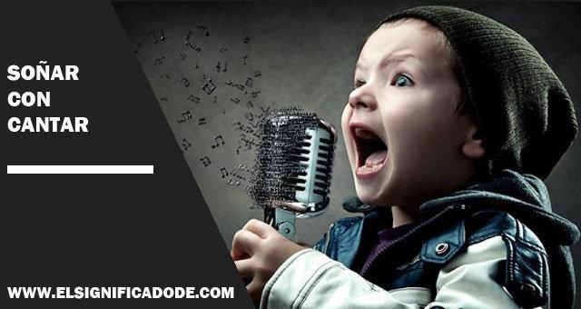 sonar con cantar