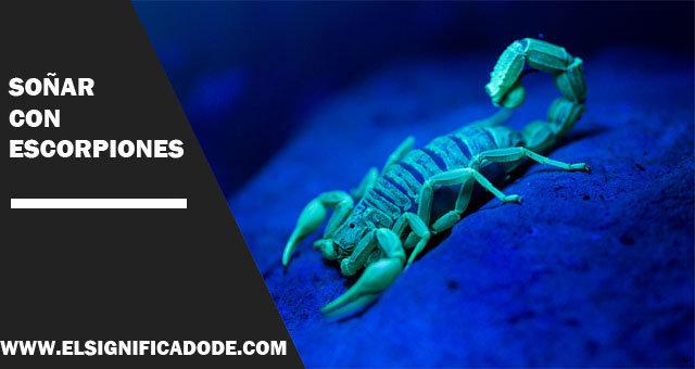 Soñar-con-escorpiones
