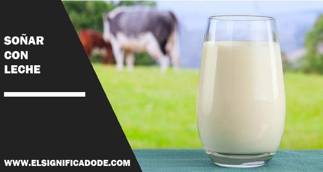 sonar con leche